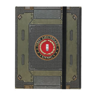 U.S. Marines: First Lieutenant (USMC 1stLt) [3D] iPad Cover