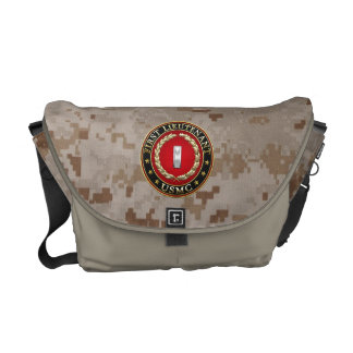 U.S. Marines: First Lieutenant (USMC 1stLt) [3D] Messenger Bag