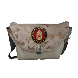U.S. Marines: First Sergeant (USMC 1stSgt) [3D] Commuter Bag