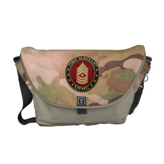 U.S. Marines: First Sergeant (USMC 1stSgt) [3D] Commuter Bag