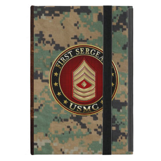 U.S. Marines: First Sergeant (USMC 1stSgt) [3D] Cover For iPad Mini