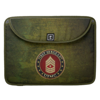 U.S. Marines: First Sergeant (USMC 1stSgt) [3D] Sleeves For MacBooks