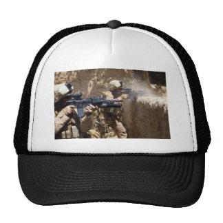 U.S. Marines in Helmand Province of Afghanistan Hat