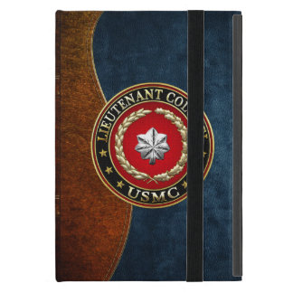 U.S. Marines: Lieutenant Colonel (USMC LtCol) [3D] Case For iPad Mini