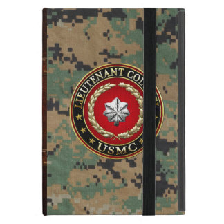 U.S. Marines: Lieutenant Colonel (USMC LtCol) [3D] Cover For iPad Mini