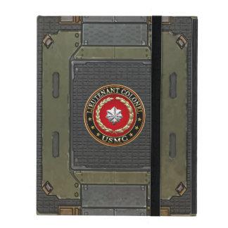 U.S. Marines: Lieutenant Colonel (USMC LtCol) [3D] iPad Case