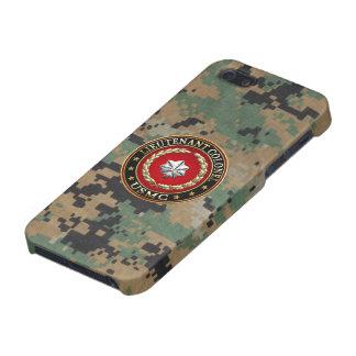 U.S. Marines: Lieutenant Colonel (USMC LtCol) [3D] iPhone 5 Cases