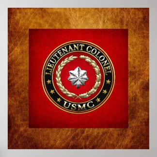 U S Marines Lieutenant Colonel USMC LtCol 3D Print