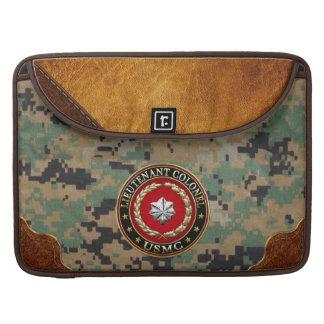 U.S. Marines: Lieutenant Colonel (USMC LtCol) [3D] Sleeve For MacBook Pro