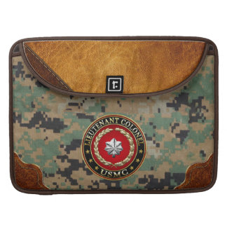 U.S. Marines: Lieutenant Colonel (USMC LtCol) [3D] Sleeves For MacBook Pro