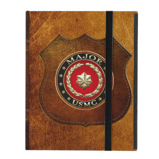 U.S. Marines: Major (USMC Maj) [3D] iPad Cover