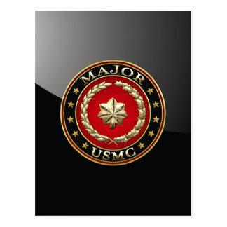 U.S. Marines: Major (USMC Maj) [3D] Postcard