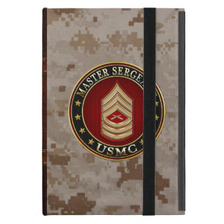 U.S. Marines: Master Sergeant (USMC MSgt) [3D] Case For iPad Mini