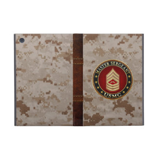 U.S. Marines: Master Sergeant (USMC MSgt) [3D] Case For iPad Mini