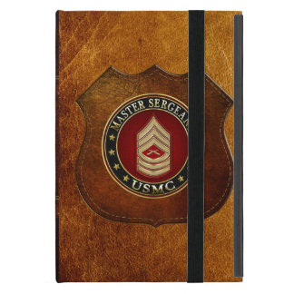 U.S. Marines: Master Sergeant (USMC MSgt) [3D] Cover For iPad Mini