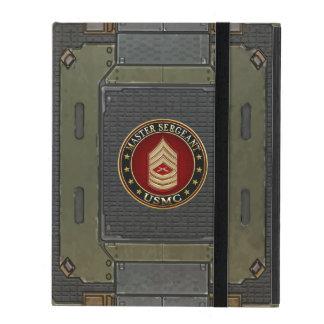 U.S. Marines: Master Sergeant (USMC MSgt) [3D] iPad Case