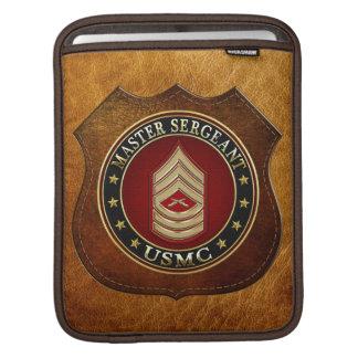 U.S. Marines: Master Sergeant (USMC MSgt) [3D] iPad Sleeve