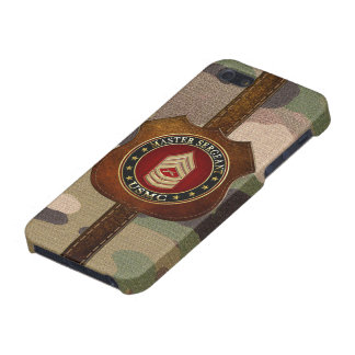 U.S. Marines: Master Sergeant (USMC MSgt) [3D] iPhone 5 Case