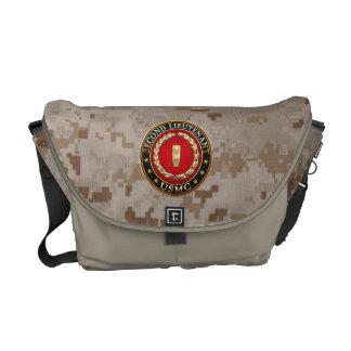 U.S. Marines: Second Lieutenant (USMC 2ndLt) [3D] Courier Bag