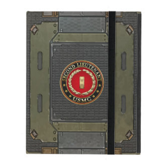 U.S. Marines: Second Lieutenant (USMC 2ndLt) [3D] iPad Case
