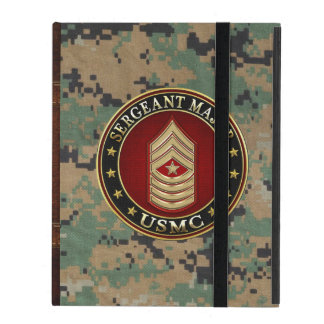 U.S. Marines: Sergeant Major (USMC SgtMaj) [3D] iPad Folio Case