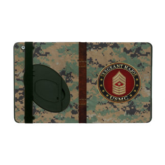 U.S. Marines: Sergeant Major (USMC SgtMaj) [3D] iPad Folio Cover