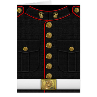 U.S. Marines: USMC Dress Uniform [3D] Card
