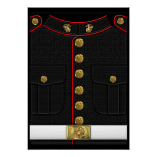 U.S. Marines: USMC Dress Uniform [3D] Poster