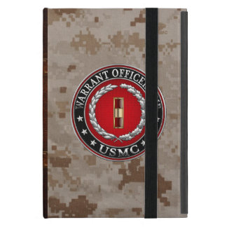 U.S. Marines: Warrant Officer One (USMC WO-1) [3D] Case For iPad Mini