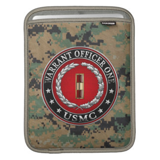 U.S. Marines: Warrant Officer One (USMC WO-1) [3D] iPad Sleeve