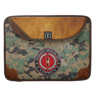 U.S. Marines: Warrant Officer One (USMC WO-1) [3D] Sleeve For MacBook Pro