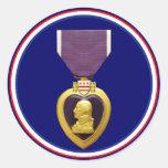 U.S. Military Purple Heart Medal Sticker