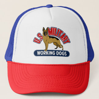 U.S. Military Working Dogs Trucker Hat