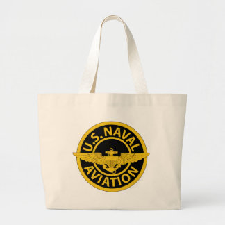 U.S. Naval Aviation - 2 Large Tote Bag