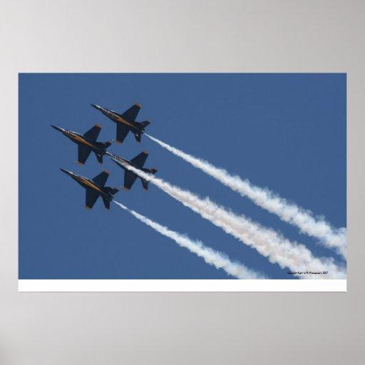 U.S. Navy Blue Angels Poster
