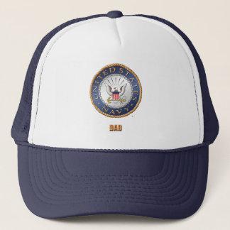 U.S. Navy Dad Trucker Hat