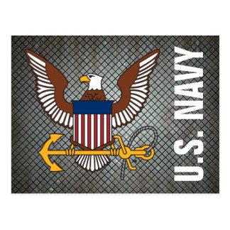 U.S. Navy | Eagle Emblem Postcard