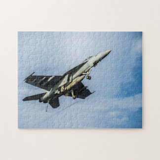 U.S. Navy F/A-18E Super Hornet Jigsaw Puzzle