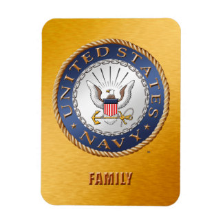 U.S. Navy Family Flexible Photo Magnet