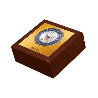 U.S. Navy Family Jewelry Keepsake Box