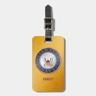 U.S. Navy Family Luggage Tag