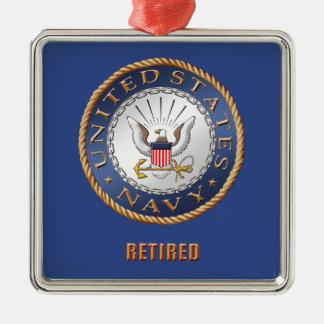 U.S. Navy Retired Ceramic Ornament