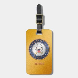 U.S. Navy Retired Luggage Tag