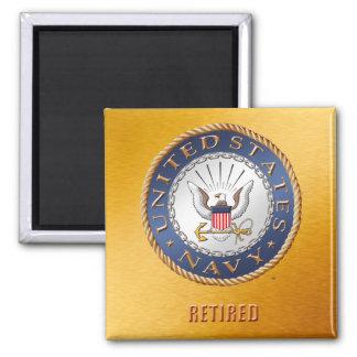 U.S. Navy Retired Magnet