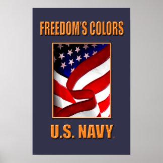 U.S. Navy Reusable Grocery Bag Poster