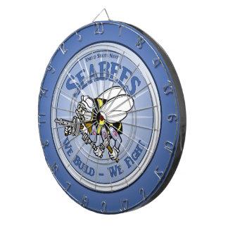 U.S. Navy Seabee Dartboard