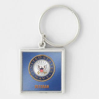 U.S. Navy Veteran Keychain