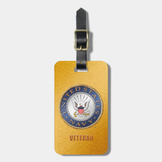 U.S. Navy Veteran Luggage Tag