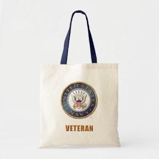 U.S. Navy Veteran Tote Bag