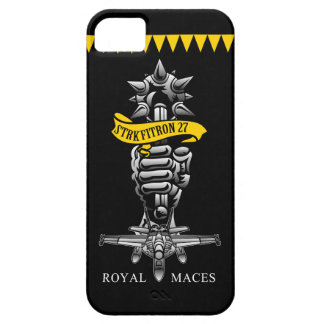 """U.S.NAVY/VFA-27 """"Royal Maces"""" iPhone 5 Cass iPhone 5 Cover"""
